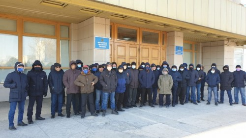 The Kazakh Authorities Continue Their Crack-Down on Independent Unions