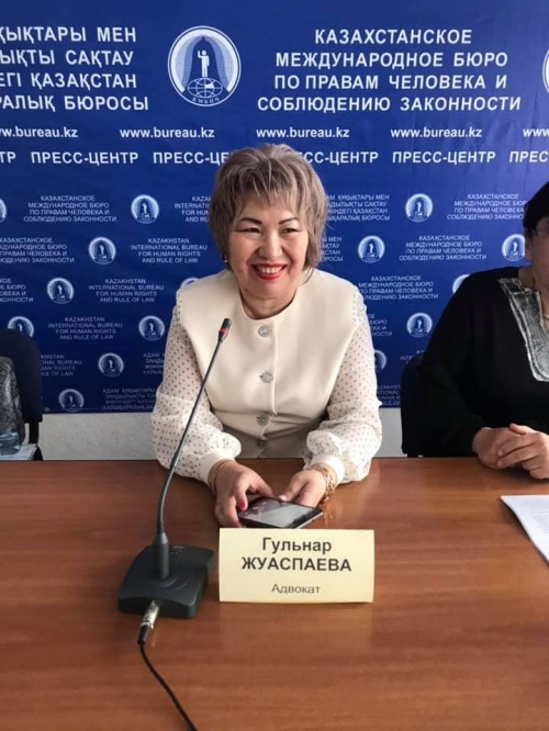 Kazakhstan: Judge's complaint alarms legal profession