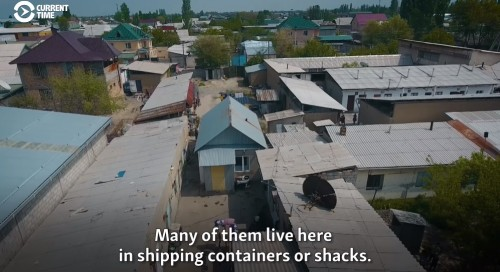 Workers Go Hungry As Central Asia's Largest Bazaar Stands Empty