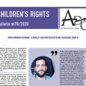 For the International Day for Protection of Children, a newsletter on children's rights was issued.